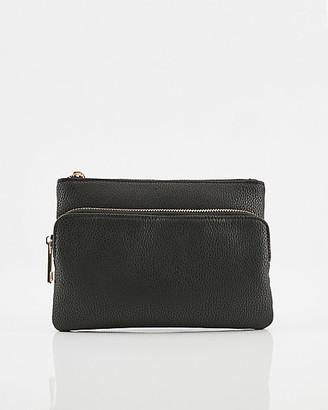 Le Château Pebbled Faux Leather Belt Bag