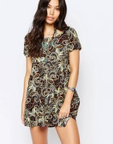 Glamorous Short Sleeve Shift Dress