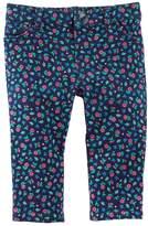 Osh Kosh Baby Girl Floral Elastic-Back Pants