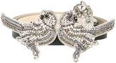 No.21 crystal bird buckle belt - women - Leather/metal/glass - 70
