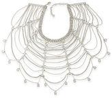Carolee Cubic Zirconia Studded Statement Collar Necklace