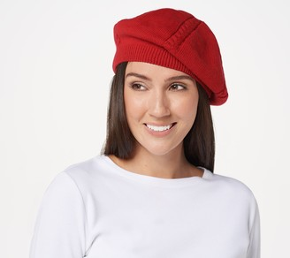 Women With Control Attitudes by Renee Cable Knit Beret