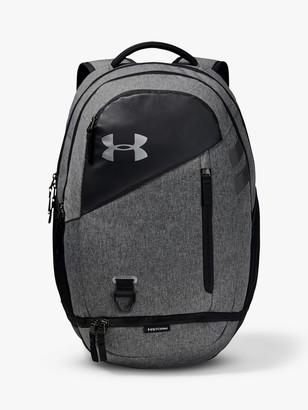 Under Armour Hustle 4.0 Backpack, Black/Graphite