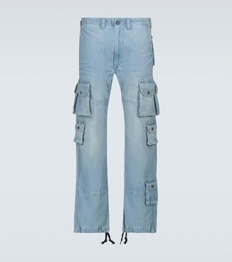 Polo Ralph Lauren Exclusive to Mytheresa Tactical denim cargo pants