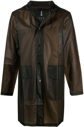 Rains Lightweight Press Stud Jacket