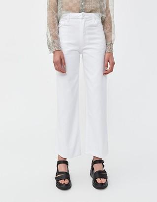 Eckhaus Latta Women's Wide Leg Jean in White, Size 27   100% Cotton