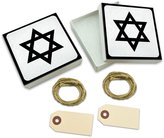 Made On Terra Star of David White Gift Boxes Set of 2