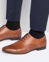 Walk London Mark Toe Cap Oxford Shoes