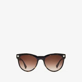 Versace VE2198 (Dark Havana/Brown Gradient) Fashion Sunglasses