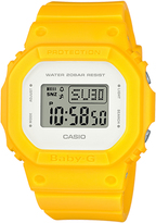 Baby-G Baby G Digital Series Watch Yellow