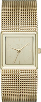 DKNY Stonewall Mesh Gold-Tone Stainless Steel Watch