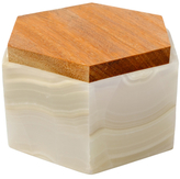 Mapleton Drive Hexagonal Banded Box