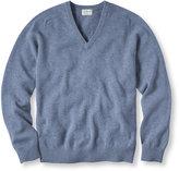 L.L. Bean Beans Lambswool V-Neck Sweater