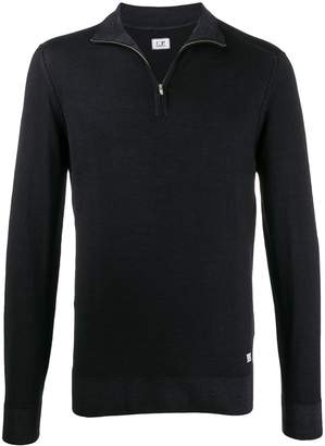 C.P. Company half-zip knit sweater