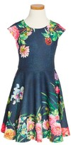 Hannah Banana Toddler Girl's Lady Bug Skater Dress