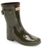 Hunter Women's 'Refined Short' Gloss Rain Boot