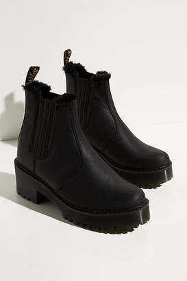 Dr. Martens Rometty Fur Lined Chelsea Boots