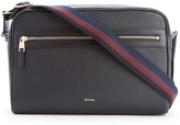 Paul Smith City Webbing Leather Cross Body Bag Black