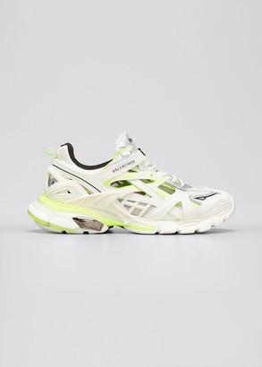 Balenciaga Men's Track 2 Colorblock Sneakers