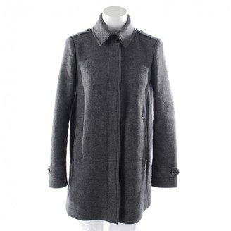 Burberry Grey Wool Jackets