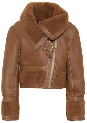 Zimmermann Fleeting Cavalry leather jacket