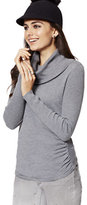 New York & Co. Shirred Cowl-Neck Sweater