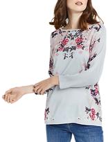 Oasis Kimono Mirrored Top, Mid Grey