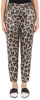 Haider Ackermann Women's Leopard-Print Silk-Blend Trousers