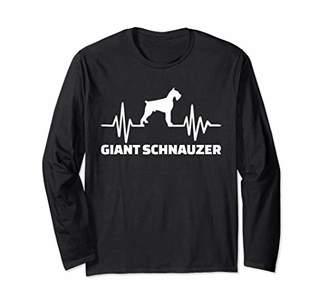 Giant Schnauzer frequency Long Sleeve T-Shirt
