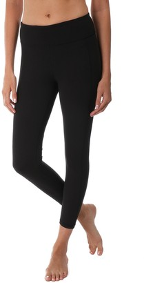Soybu Women's Killer Caboose High-Waisted Ankle Leggings
