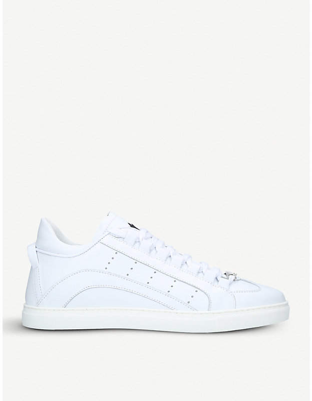 DSQUARED2 551 leather trainers