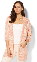 New York & Co. Open-Front Long Cardigan