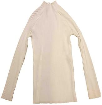 Barbara Casasola White Cotton Top for Women