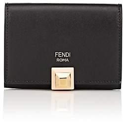 Fendi Women's Small Leather Card Case - Black