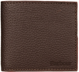 Barbour Wallet Dark Brown Grain Leher MAC177BR 711