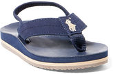 Ralph Lauren Toddler Leo Faux-Leather Flip-Flop
