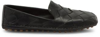 Bottega Veneta Douglas Intercciato Leather Loafers