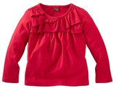 Tea Collection Tiered Ruffle Top (Toddler Girls)