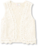 Children's Place Embroidered vest