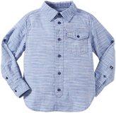 Buffalo Slub Woven Shirt (Kid) - Oyster Blue-4