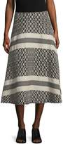 Tracy Reese Women's Flared Cotton Skirt
