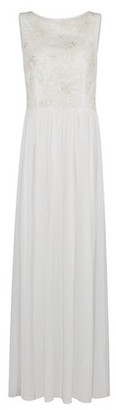 Dorothy Perkins Womens Showcase White Bridal 'Connie' Maxi Dress, White