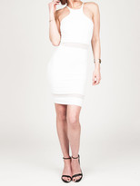 Donna Mizani Racer Front Mini in White