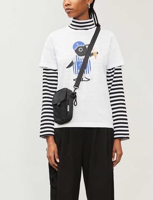 Chocoolate Graphic-print cotton-jersey T-shirt