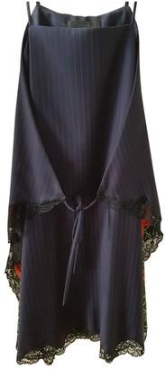 Alexander Wang Blue Silk Dresses