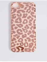 M&S Collection iPhone 7 Animal Print Phone Case