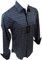 Men's Calvetti Paisley Woven Long Sleeve Button Down Dress Shirt 311 (2XL)
