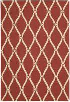 Portico Indoor/Outdoor Area Rug - Red