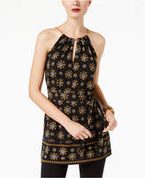 MICHAEL Michael Kors Printed Chain-Embellished Tunic, a Macy's Exclusive Style