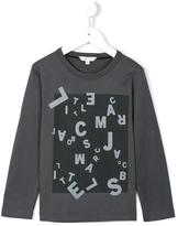 Little Marc Jacobs jumbled logo print top